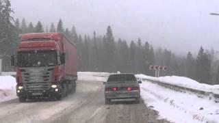Зимние дороги Урала