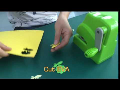 new 3D eva PUNCHER/ paper punch