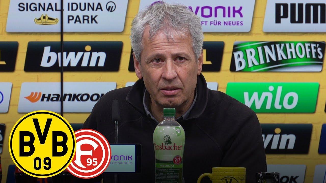 Titelchance ist weiter da! | Watzke und Favre auf der PK | BVB - Fortuna Düsseldorf 3:2