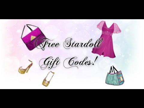 Free Stardoll Gift Codes!