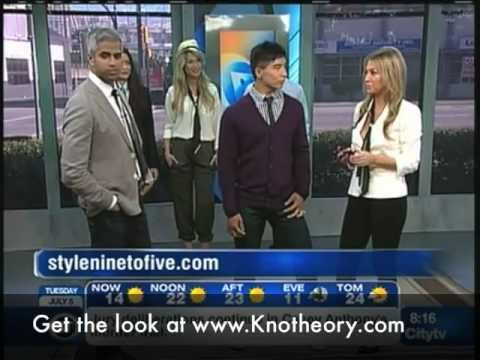Knot Theory on Breakfast TV with Riaz and Christie Lohr