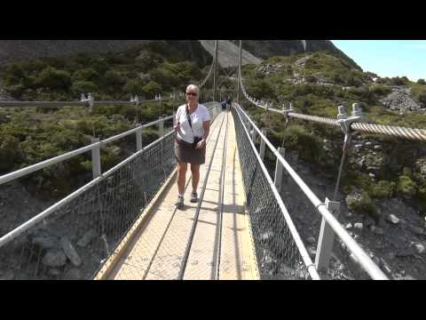 Hooker Valley Swingbridge #2,  Mt Cook/Aoraki New Zealand