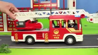 Traktör, Vinç, Ekskavatör ve Yeni  arabalar İş Makineleri - Çizgi film izle!