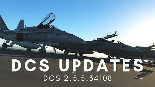 DCS 2.5.5: Tomcat Additions (including campaign), Hornet Targeting Pod, Harrier Slave Bug Fix