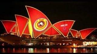 Vivid Sydney 2013 - Sydney Opera House (full length with sound)
