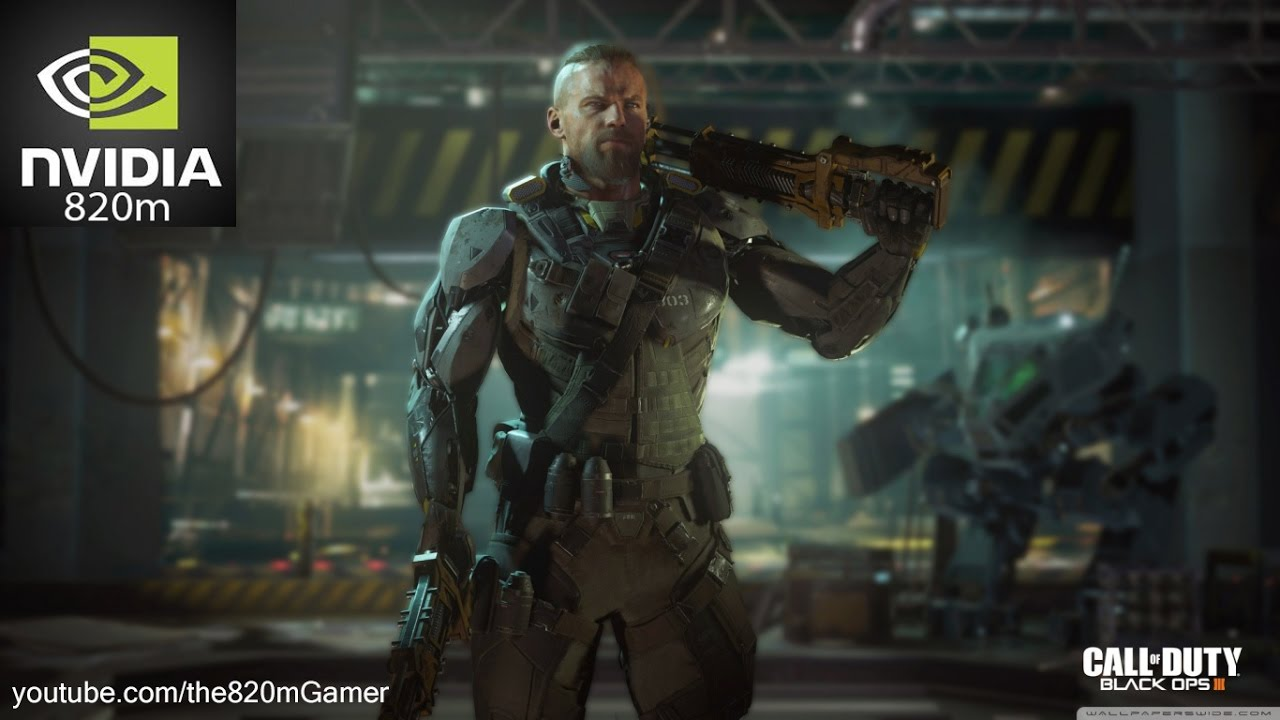 Call of Duty Black Ops III Nvidia GeForce 820m(2GB) 4GB RAM