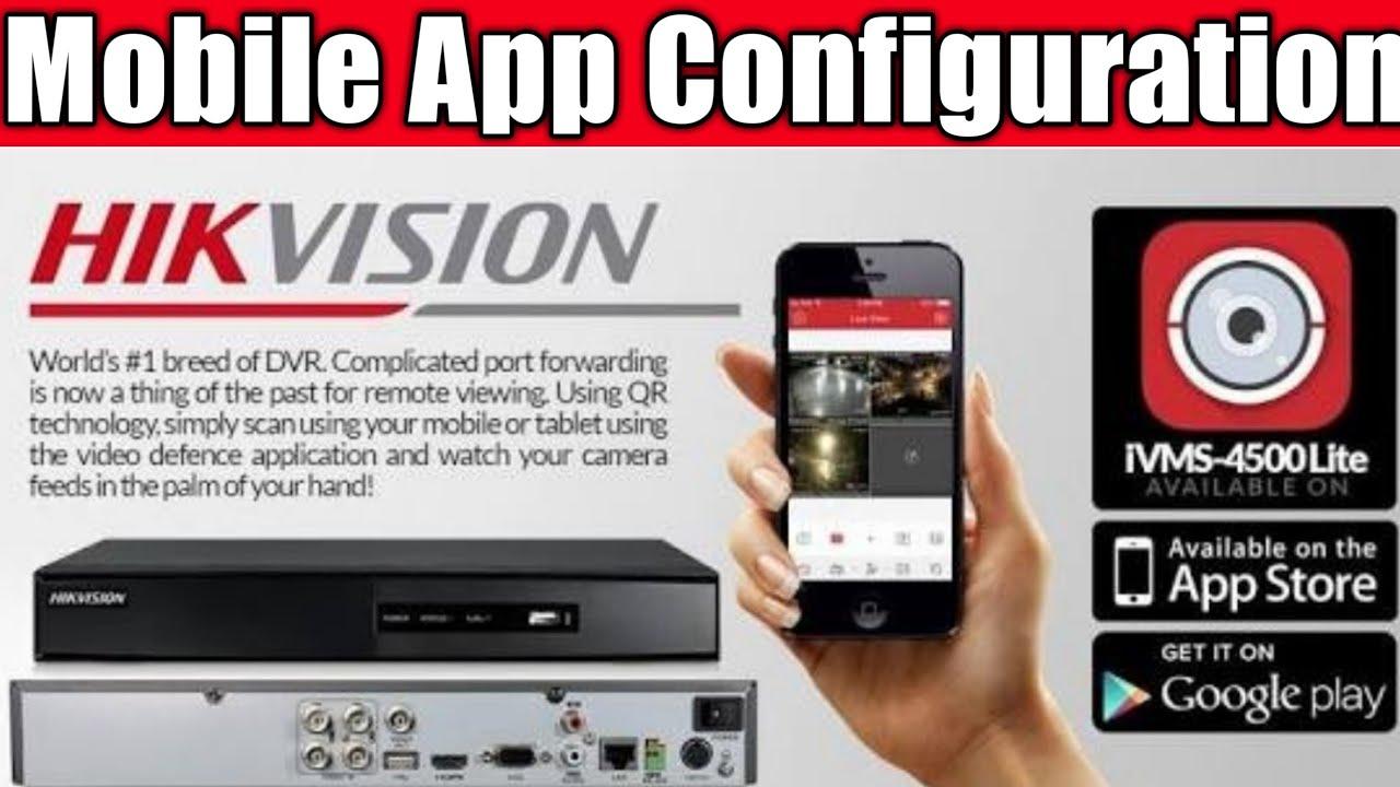 mobile app for hikvision dvr
