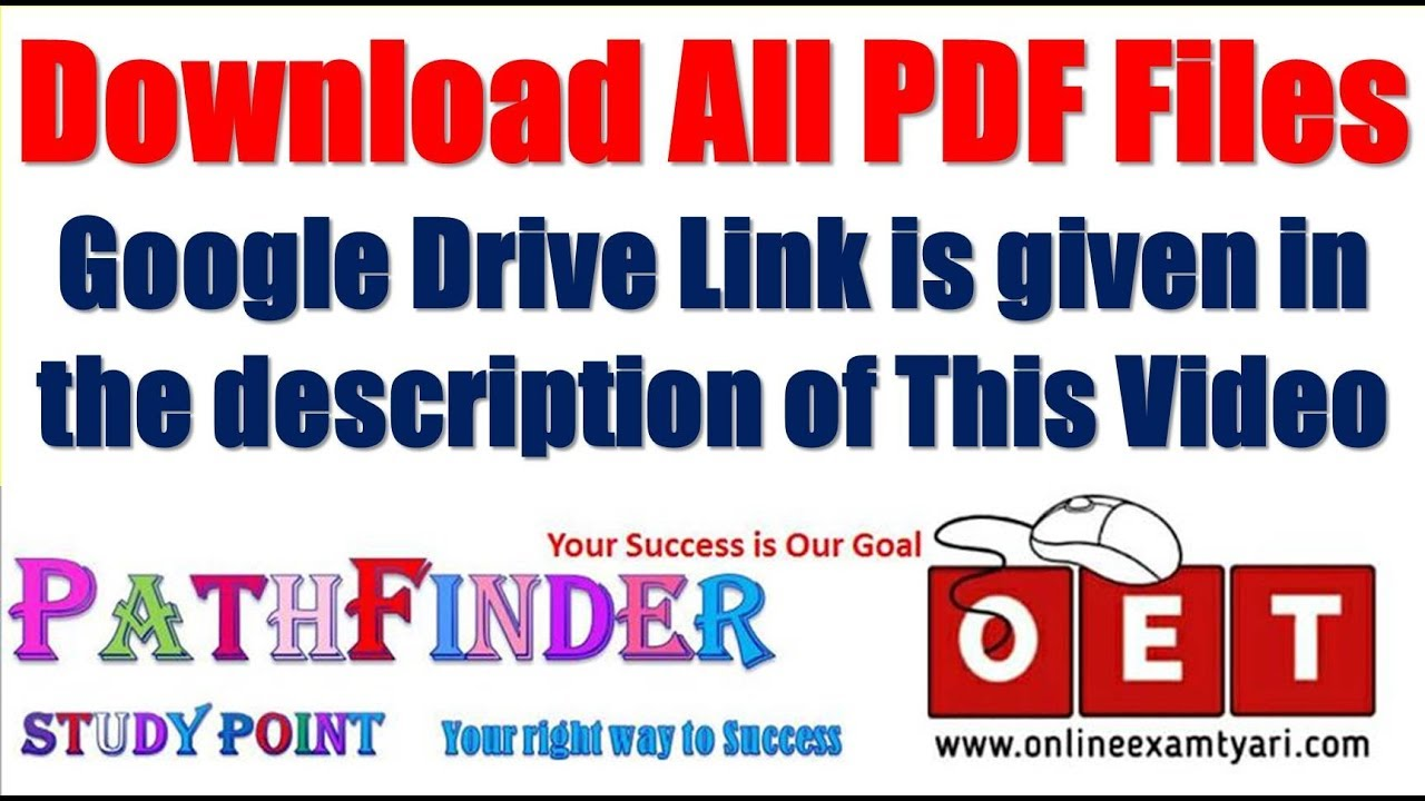All PDF File Download link    Download all notes of Pathfinder Study Point