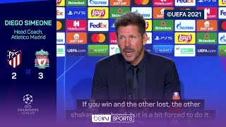 Klopp and Simeone's war of words continue after handshake snub