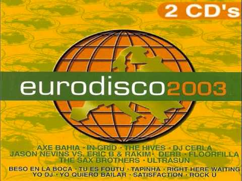 13.- LAURENT KONRAD - Rock U (EURODISCO 2003) CD-2