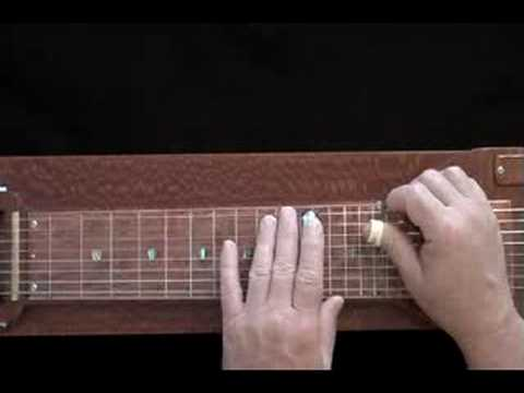 Lap Steel Lesson - Intervals C-E on the C6th Neck