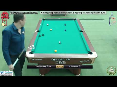 Shane Van Boening USA   Ruslan Chinakhov RUS  10 ball  Quarterfinal  Kremlin