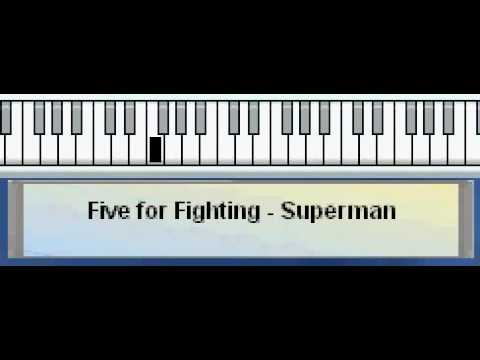 How To Play Five For Fighting Superman Its Not Easy Youtube