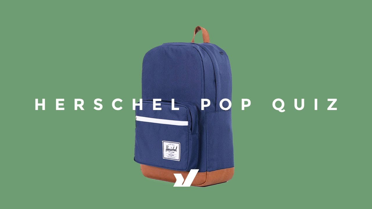 cda00846b2 The Herschel Pop Quiz Backpack - YouTube