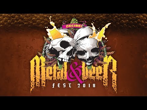 Decibel Metal & Beer Fest 2018 Promo