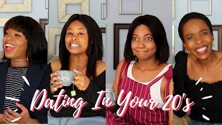 WHAT DATING IN YOUR 20s IS REALLY LIKE! | The Ladies Room Episode 1