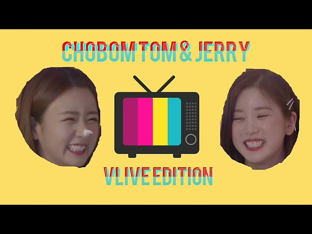 [ ENG SUB ] Apink Chorong and Bomi Chobom Tom n Jerry Moment Compilation 에이핑크 초롱 보미 초봄 톰 과 제리 모음