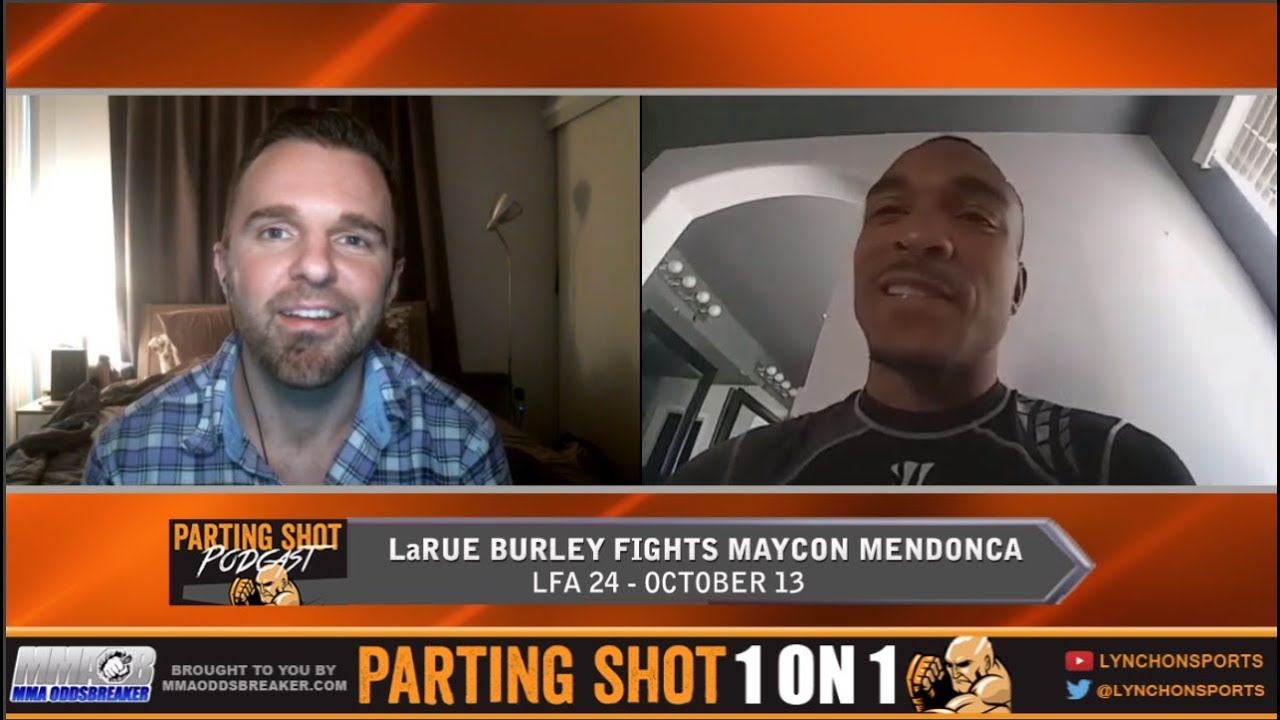 LaRue Burley talks LFA 24 matchup & Fantasy Football team