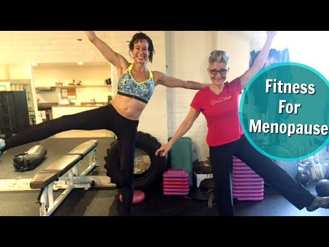 Working Out With a Menopause Fitness Specialist - 55