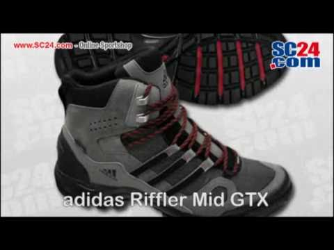 95d9054ec adidas Riffler Mid GTX Art Nr 24718 - YouTube