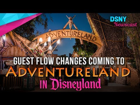 Adventureland Layout Changes To Improve Guest Experienece at Disneyland - Disney News - 6/10/17