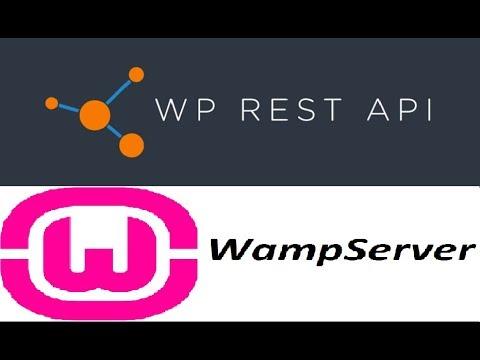 Install Wordpress To Access Wordpress Rest API V2 (wp-json) On Wamp Server