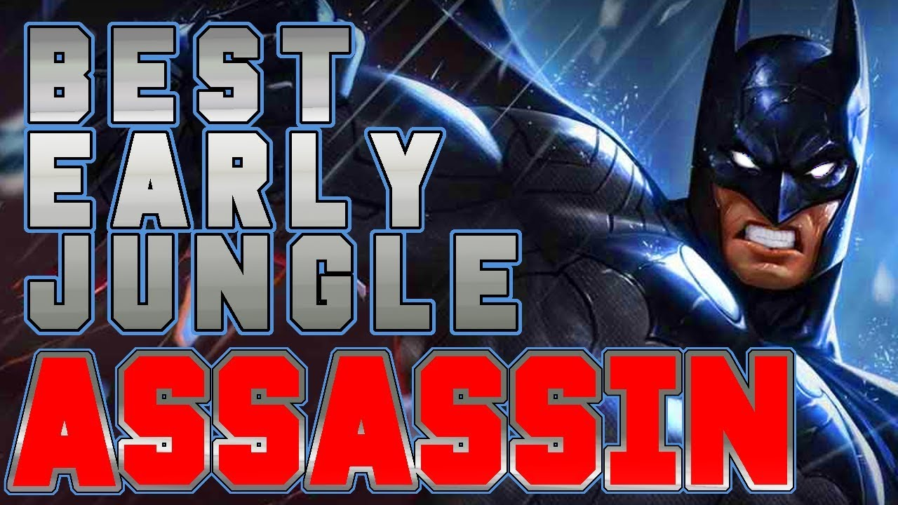 Aov Batman Best Early Jungle Assassin Feat Shurko Memorized Hardcarry Build