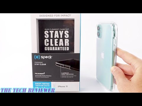 Speck Presidio Stay Clear for iPhone 11: No Yellowing…Guaranteed!!