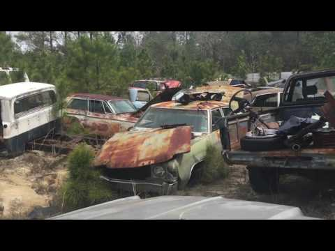 Classic Car Junkyard Part 1