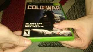 Nostalgamer Unboxes Cold War On Microsoft Xbox UK PAL System Version