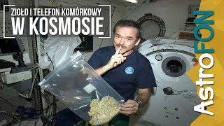 Zioło i telefon komórkowy w kosmosie - AstroFon