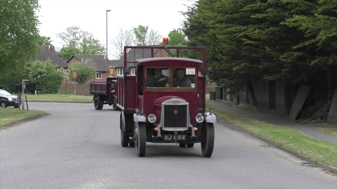 London to Brighton Historic Commercial Vehicle Run 7th May 2017 ...