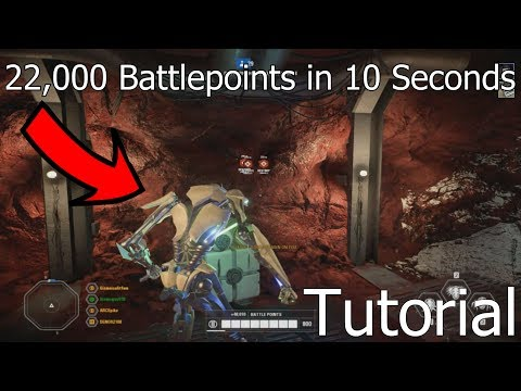 HOW TO GET 22,000 BATTLEPOINTS IN 10 SECONDS! - Battlefront 2 (Glitch) thumbnail