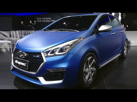 Hyundai HB20 R-Spec Concept Launched In Brazil | TAKE A LOOK !