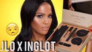 NEW JLO Glow!!! JLO X INGLOT Collection Review & First Impression | MakeupShayla