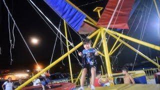 Ege İpli Trampolinde Uçtu ve Takla attı / Eğlenceli Çocuk Videosu / ZıpZıp Park / Lunapark
