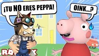 ¿¿De verdad es PEPPA PIG?? 🐷-Escape Peppa ' s House-ROBLOX