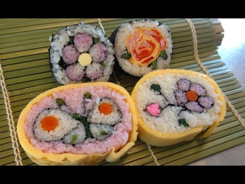 The art of futomaki matsuri sushi Chiba from Chiba prefecture / CDT Japan week Valencia