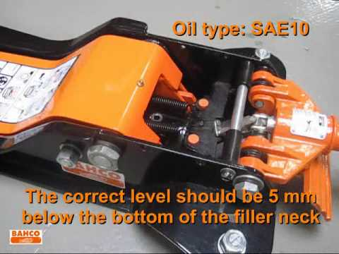 Trolley Jacks Air Purging And Oil Refilling System Youtube
