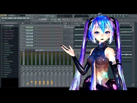 "【""Tutorial""】Making a Mixing With Vocaloid and FL Studio【Vocaloid + FL Studio】"