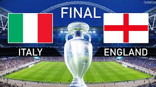 PES 2021 EURO 2020 Final ITALY vs ENGLAND Full Match HD Football Live