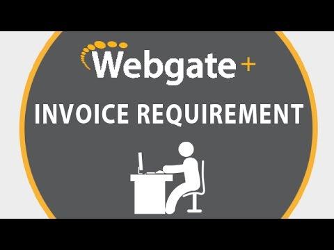 EDI THE BRICK - Invoice requirements for Service Bureau by EDI Gateway