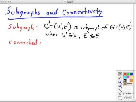 Topic 14 A Graphs Definitions