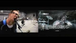 [HD] Guitar Hero: Metallica Motion Capture vs In Game Take 2