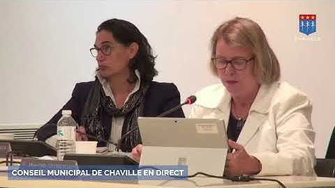 Conseil Municipal en direct