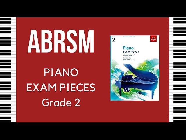 ABRSM - Pianoforte - Repertorio grado 2  - Selezione Syllabus 2019-2020