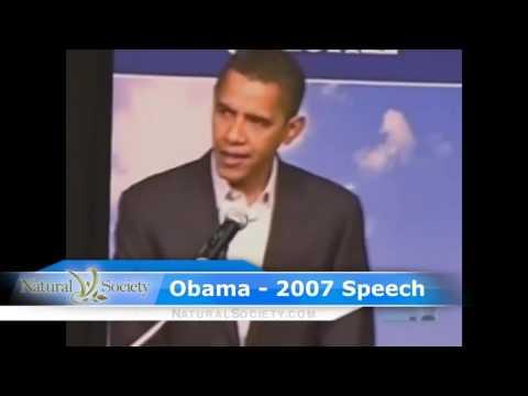 Obama Promises Immediate GMO Labeling in 2007, now slave to Monsatan! HD, 1280x720p
