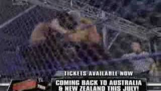 Smackdown - Undertaker vs. Big Show Steel Cage Part 1