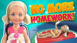 Barbie - No More Homework! | Ep.157