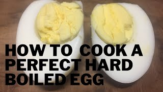 How To Cook a Perḟect Hard Boiled Egg